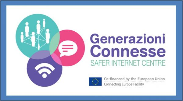 Generazione Connesse - Safer Internet Center (titolo e logo)